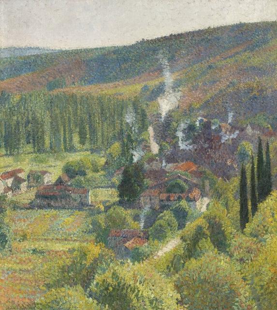 , 'Paysage à Labastide-du-Vert,' , Willow Gallery
