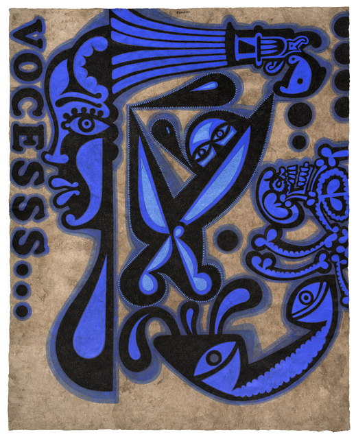 , 'Vocesss (Voicesss),' 2017, Boca Raton Museum of Art