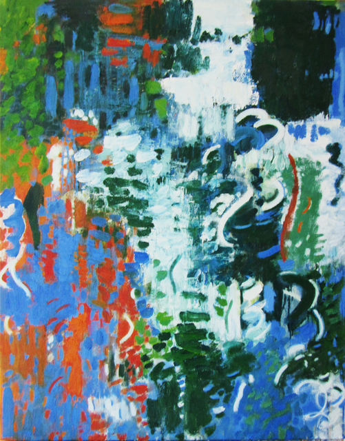 , 'Moonrise, Sunset,' 2018, Anita Shapolsky Gallery