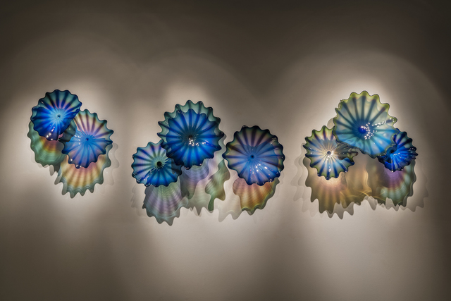 Dale Chihuly, 'Cerulean Indigo Persian Wall', 2018, Arthur Roger Gallery