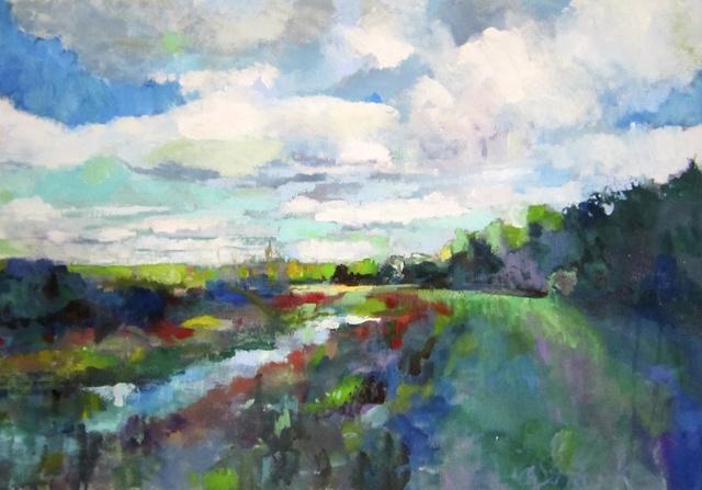 , 'Swan Creek Marsh,' , Water Street Gallery
