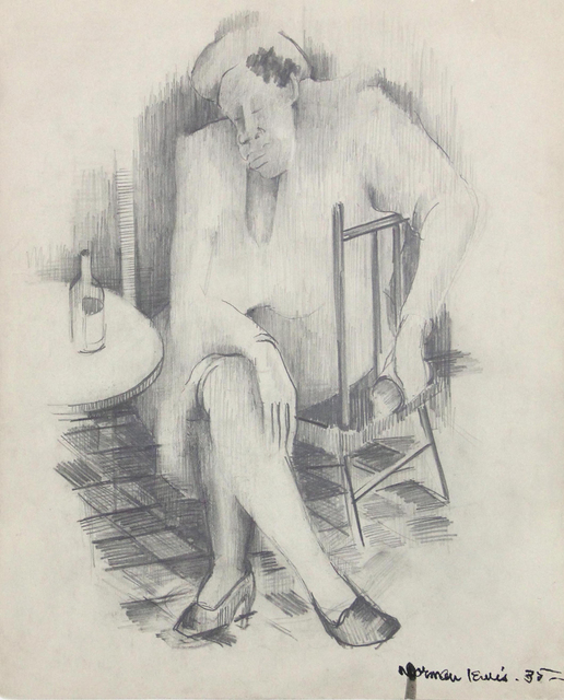 , 'Untitled (Study for a Painting),' 1935, Bill Hodges Gallery