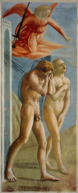Masaccio, 'The Expulsion from Paradise', ca. 1427, Art History 101