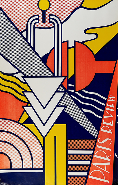Roy Lichtenstein, 'Paris Review Poster', 1966, Rago