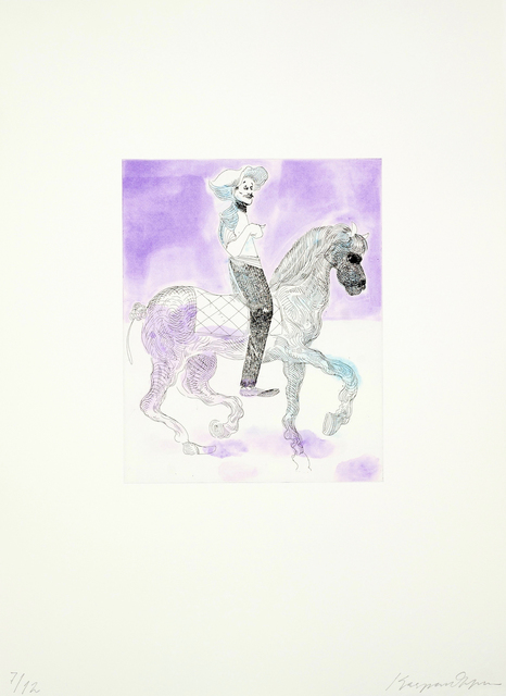 , 'Ride On (IV),' 2016, Printer's Proof