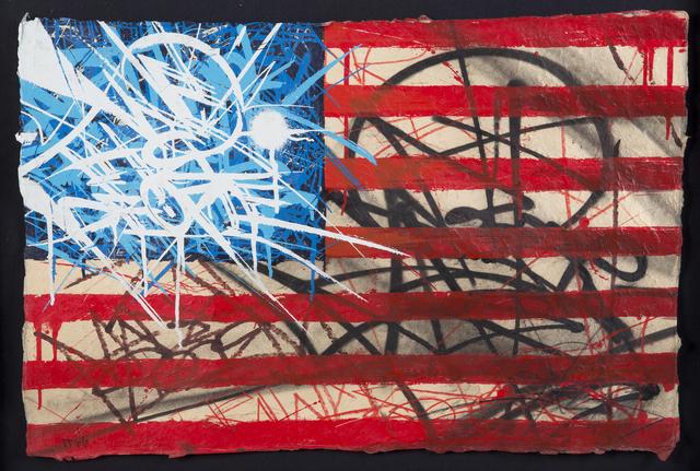 Saber, 'American Flag', 2010, Julien's Auctions