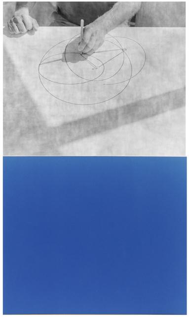 , 'Cyanomètre 11,' 2017, Catherine Edelman Gallery