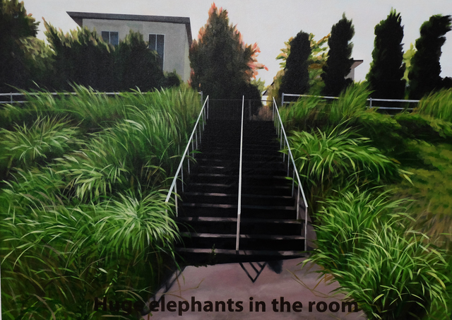 , 'Huge elephants in the room,' 2014, Lyla Gallery