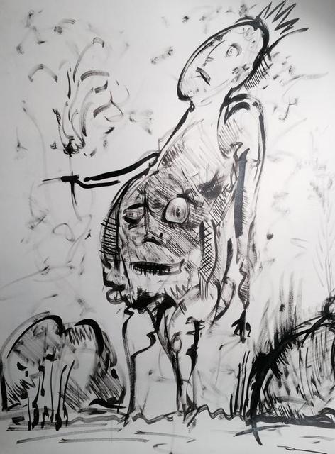 , 'Ubu Roi,' 2012, SILAS VON MORISSE gallery