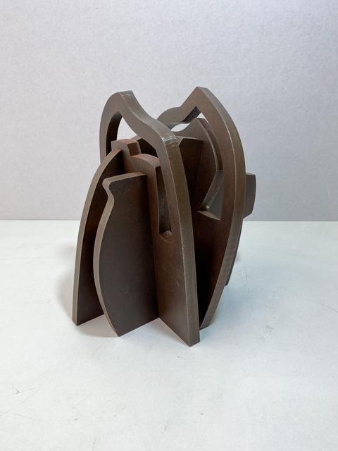 Iñigo Arregi, 'Despliegue de planos I', 2021, Sculpture, Patinated corten steel, Victor Lope Arte Contemporaneo
