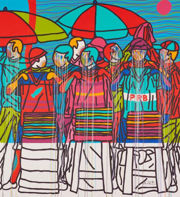 , 'Kololo boys inside attack 2,' 2019, Jack Bell Gallery