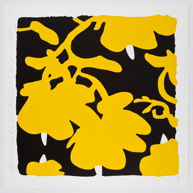 , 'Yellow and Black,  Feb 10, 2017,' 2017, William Campbell Contemporary Art, Inc.