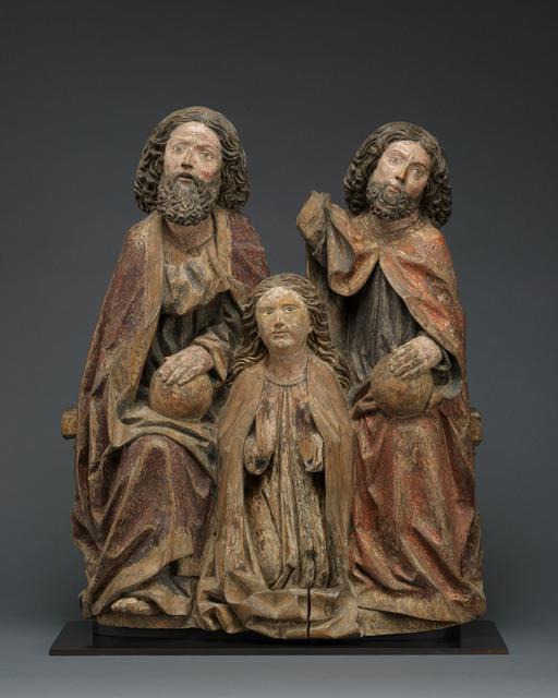 Unknown Swabian, 'Coronation of the Virgin', ca. 1500, Mullany