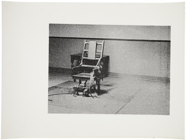 Andy Warhol, 'Electric Chair (F. & S. IIIA.4[a])', ca. 1978, Christie's Warhol Sale