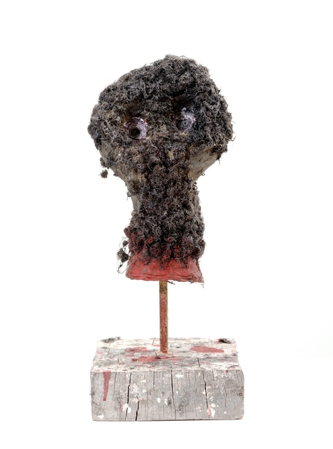Adjani Okpu-Egbe, 'A French Soldier 's Trophy Head in Cameroon 1950's/1960's', 2019, Sulger Buel Gallery