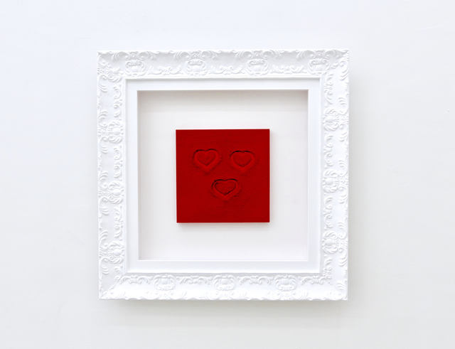 , '3 Hearts,' 2010, ABXY