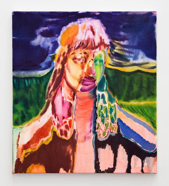 , 'Twitching Eye,' 2016, River