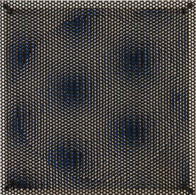 Antonio Asis, 'Cercle bleu et blanc', 1970, Cecilia de Torres Ltd.