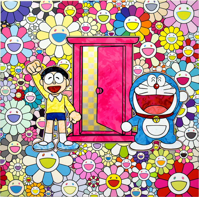 , 'We Came to the Field of Flowers Through Anywhere Door (Dokodemo Door)!,' 2018, Gagosian