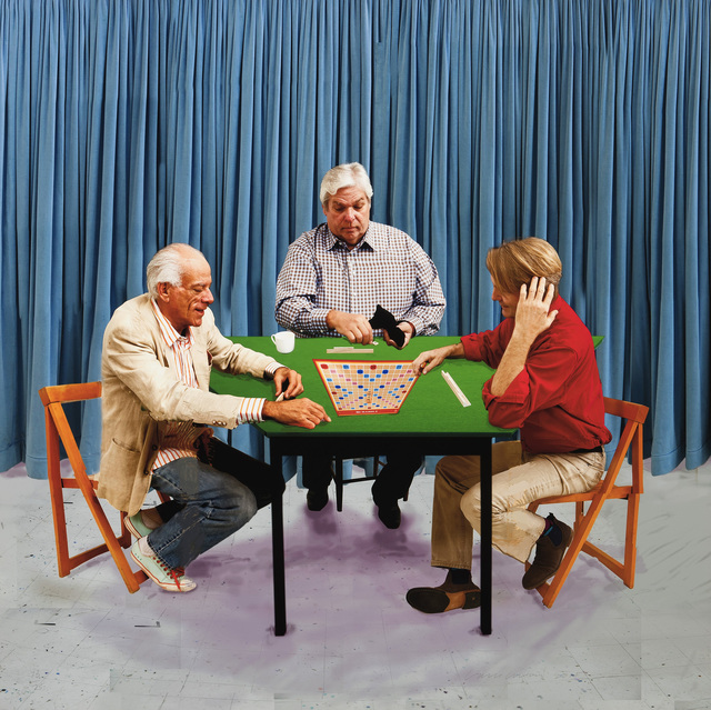 , 'The Scrabble Players,' 2015, Galerie Lelong & Co.