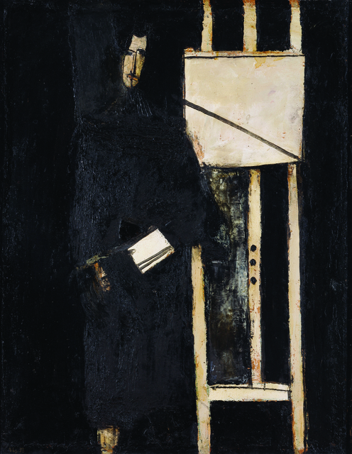 , 'Self-portrait with Easel,' 1958, Museum of Modern Art Dubrovnik