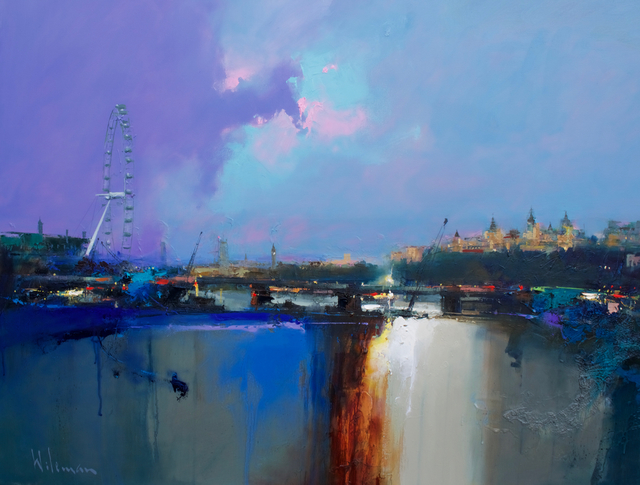 , 'The London Eye & Parliament ,' 2018, Thompson's Galleries