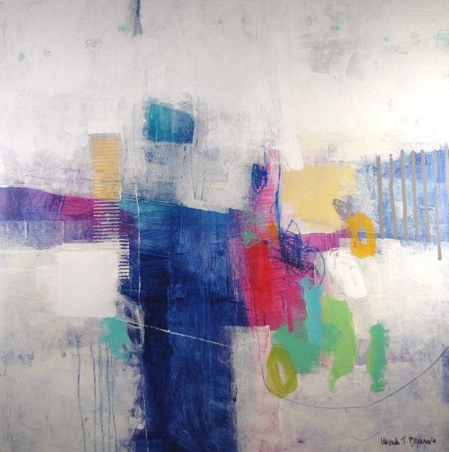 Ursula J. Brenner, 'Blue Fantasy', 2019, Thornwood Gallery