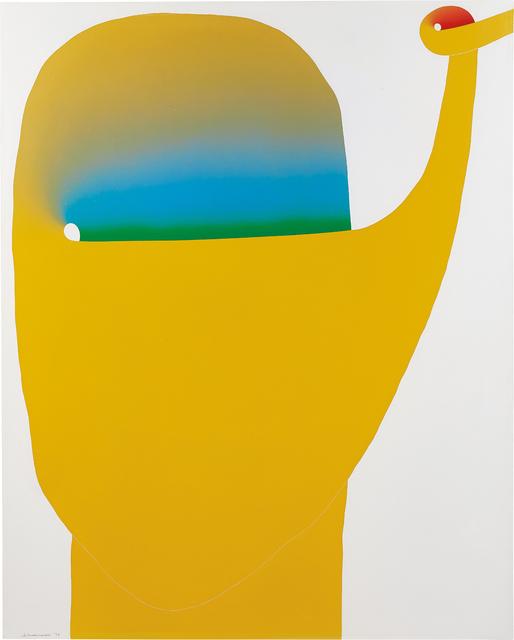 Sadamasa Motonaga, 'Work', 1974, Phillips