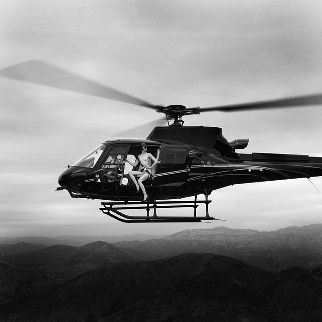 Tyler Shields, 'Helicopter III', 2021, Photography, Chromogenic Print, Samuel Lynne Galleries
