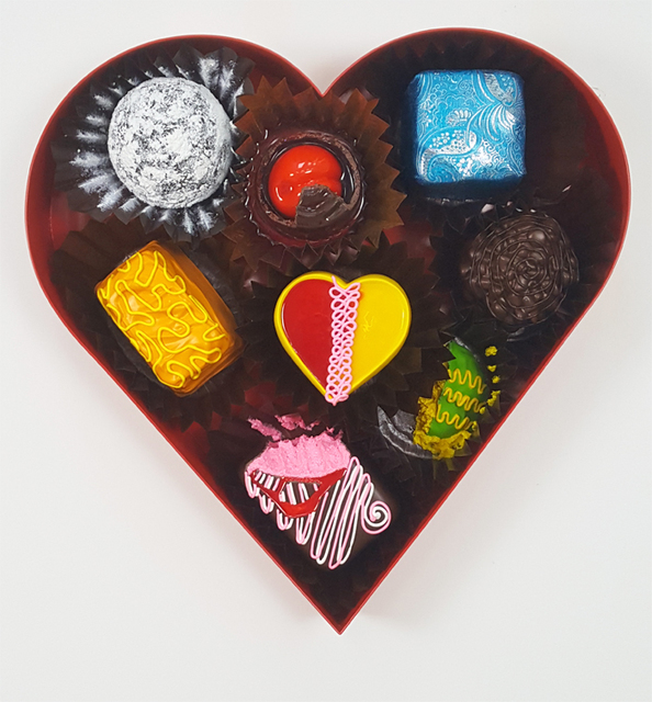 , 'Sweetheart Sampler,' 2018, Samuel Owen Gallery