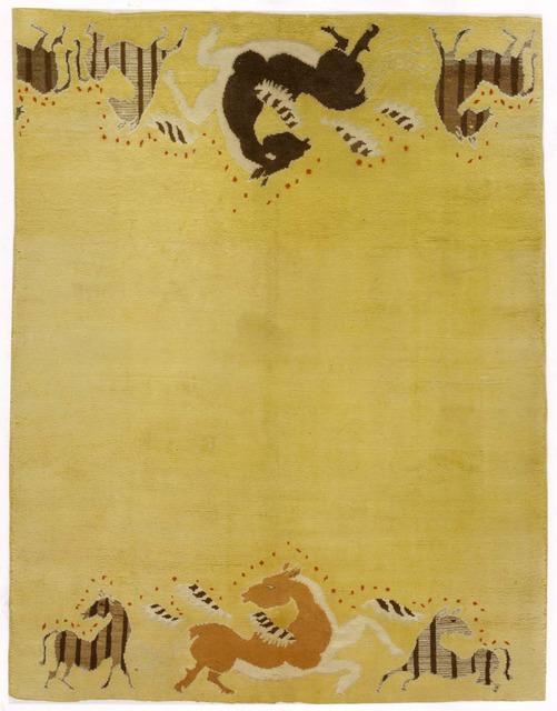 , 'Cavalcade,' ca. 1930, Beauvais Carpets