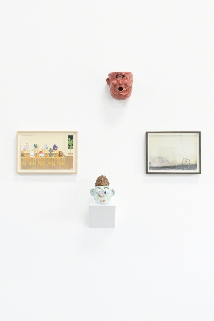 "Installation view: ""Beheaded"" (Clockwise: Croes, Cooke, Ojanen, Jien)"