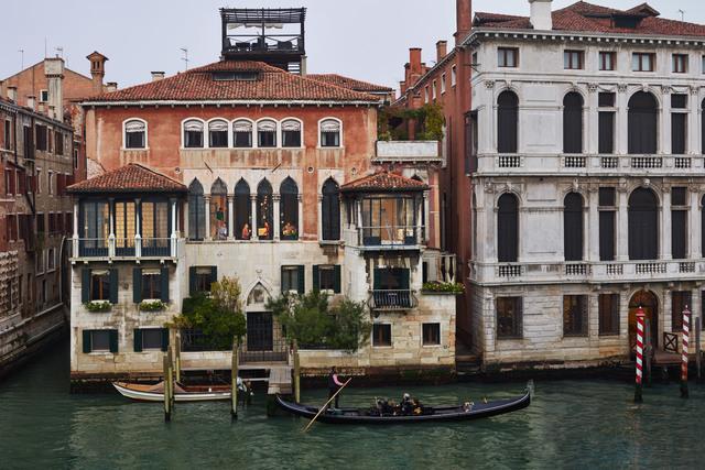 , 'Moving, San Marco, Venice, October,' 2017, Edwynn Houk Gallery