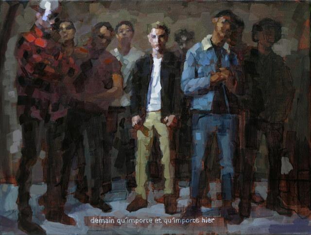 Laurent Dauptain, 'Demain qu'importe et qu'importe hier', Hugo Galerie