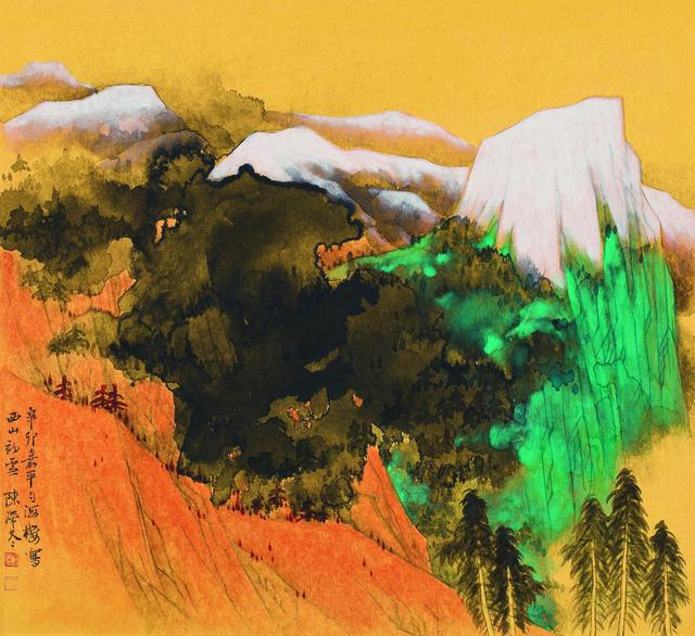 , '西山初雪,' 2010, YuShan Tang Gallery