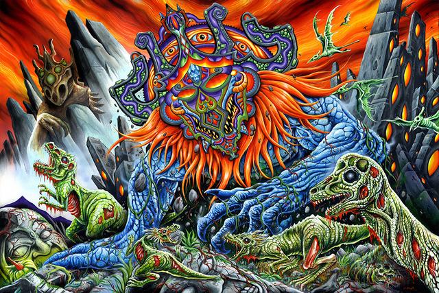 , 'Malevolus Azteca Malum,' 2016, Spoke Art