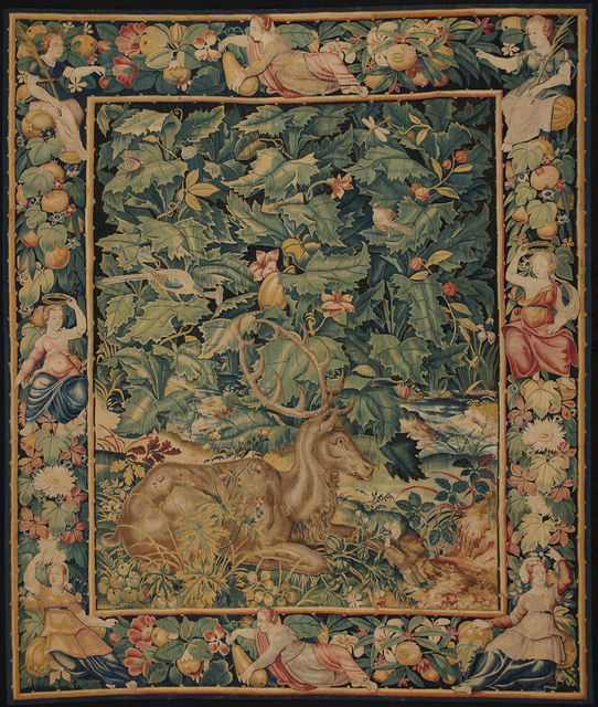 , 'Feuilles de Choux with Stag,' ca. 1550-1570, Mullany