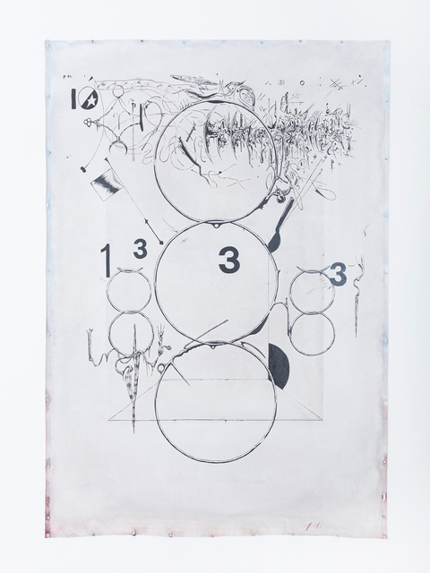 , 'Ten Sigil (Scorpio Dowsing),' 2018, Fisher Parrish Gallery