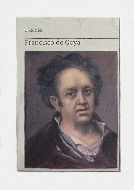 , 'Obituary: Francisco de Goya,' 2018, Charlie Smith London