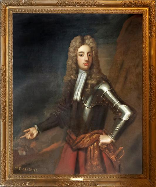 Sir Godfrey Kneller, 'Mr. Bagnal  ( Pair with Mrs. Bagnal ) ', 1700-1720, Robert Funk Fine Art