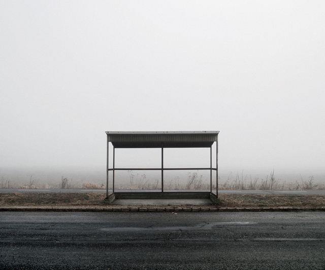 Tamas Dezso, 'Bus Stop (North-East Hungary, 2011)', 2011, The Photographers' Gallery | Print Sales
