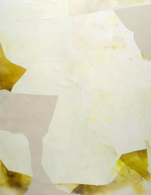 Eric Blum, 'Untitled No. 892', 2020, Painting, Ink, silk, and beeswax on panel, Kathryn Markel Fine Arts