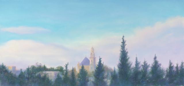 Jim Schantz, 'Dormition Abbey, Post Storm    ', Pucker Gallery