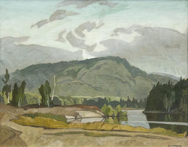 , 'Early Morning Goose Lake,' , Oeno Gallery