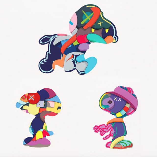 KAWS, 'Snoopy Print Portfolio (Set of 3 - No One's Home, Stay Steady, The Things That Comfort)', 2015, Ross+Kramer Gallery