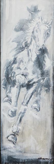 , 'Horse & Rider - White ,' 2018, Maddox Gallery