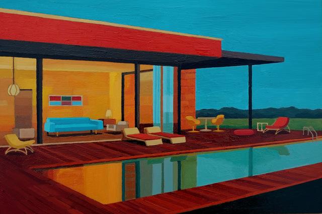 , 'Albinese House,' 2016, Cynthia Corbett Gallery