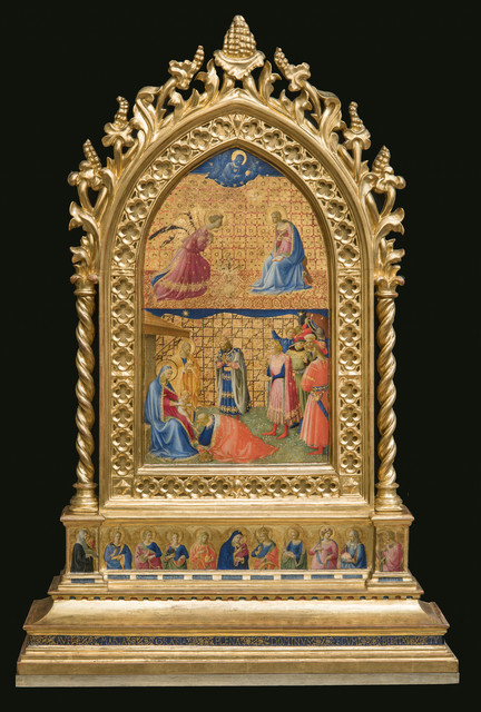 , 'Annuciation and Adoration of the Magi ,' 1424-1434, Isabella Stewart Gardner Museum