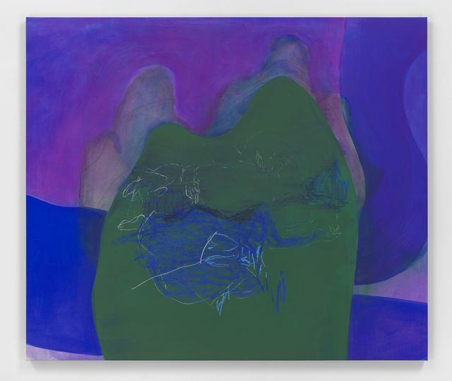 , 'Water Lily Blues I,' 2018, Hauser & Wirth