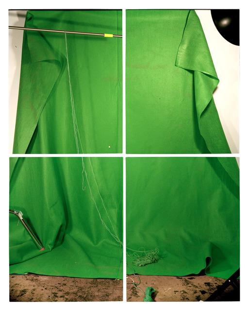 , 'Green Backdrop,' 2014, Foxy Production